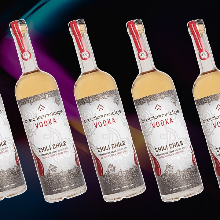 Breckenridge Chili Chile vodka bottle
