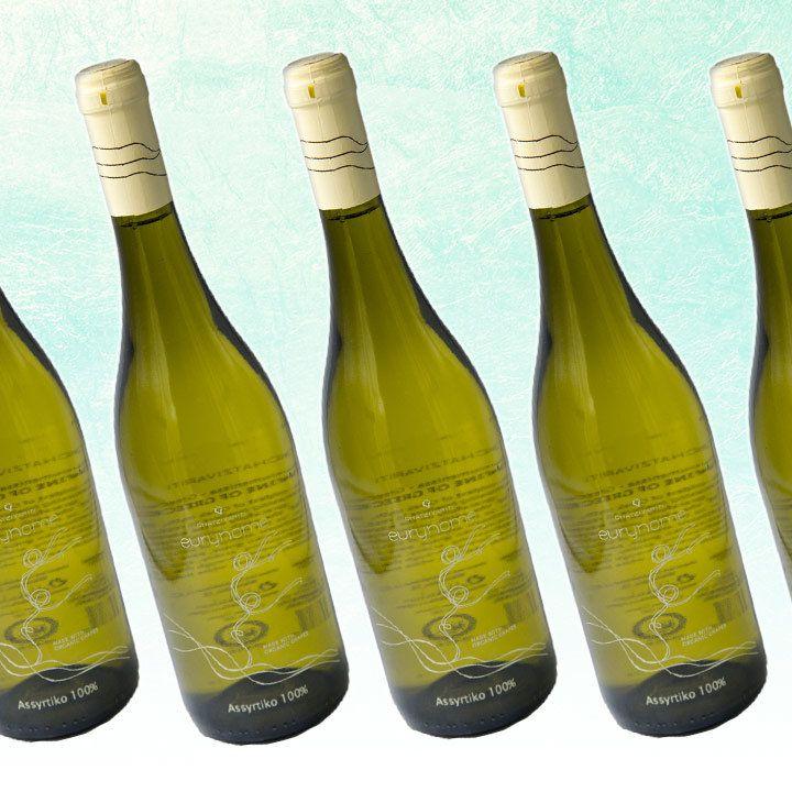 Chatzivariti Eurynome Assyrtiko bottles
