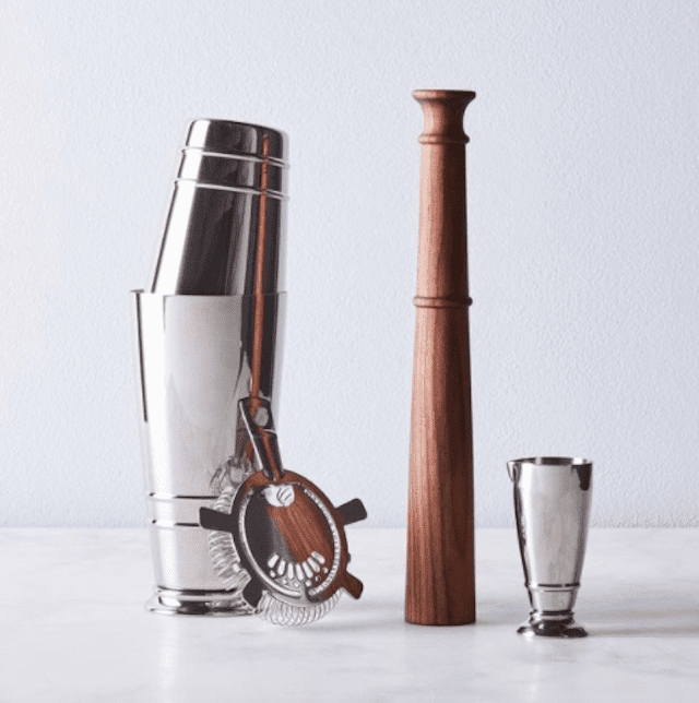 Fortessa Crafthouse Stainless Steel Cocktail Set