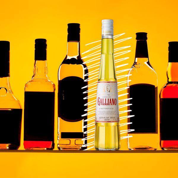 Galliano bottle