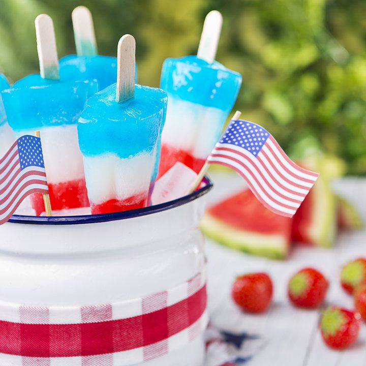 Red White & Booze popsicles
