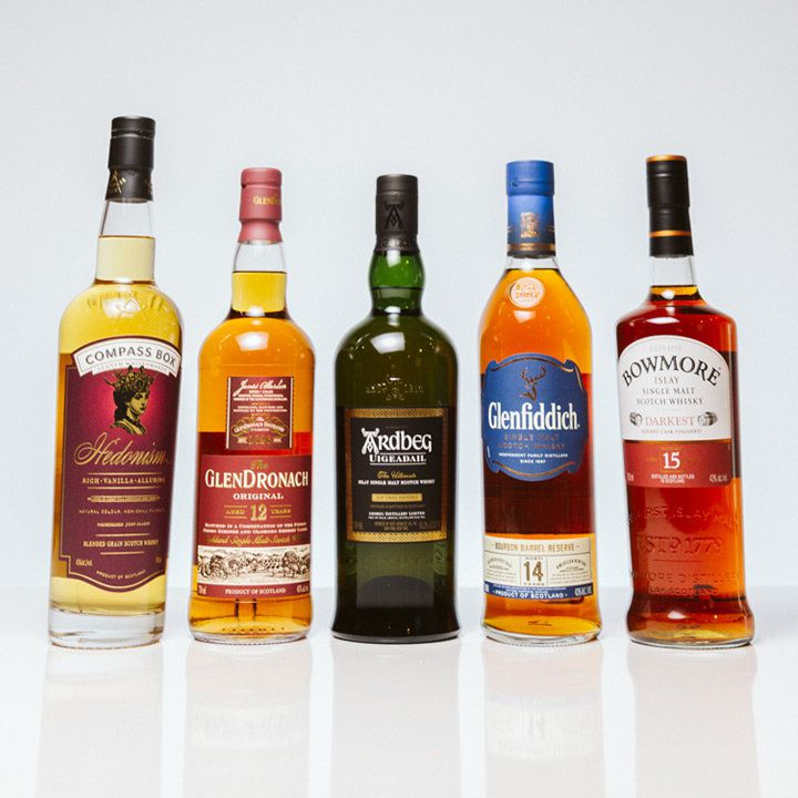 Scotch bottles