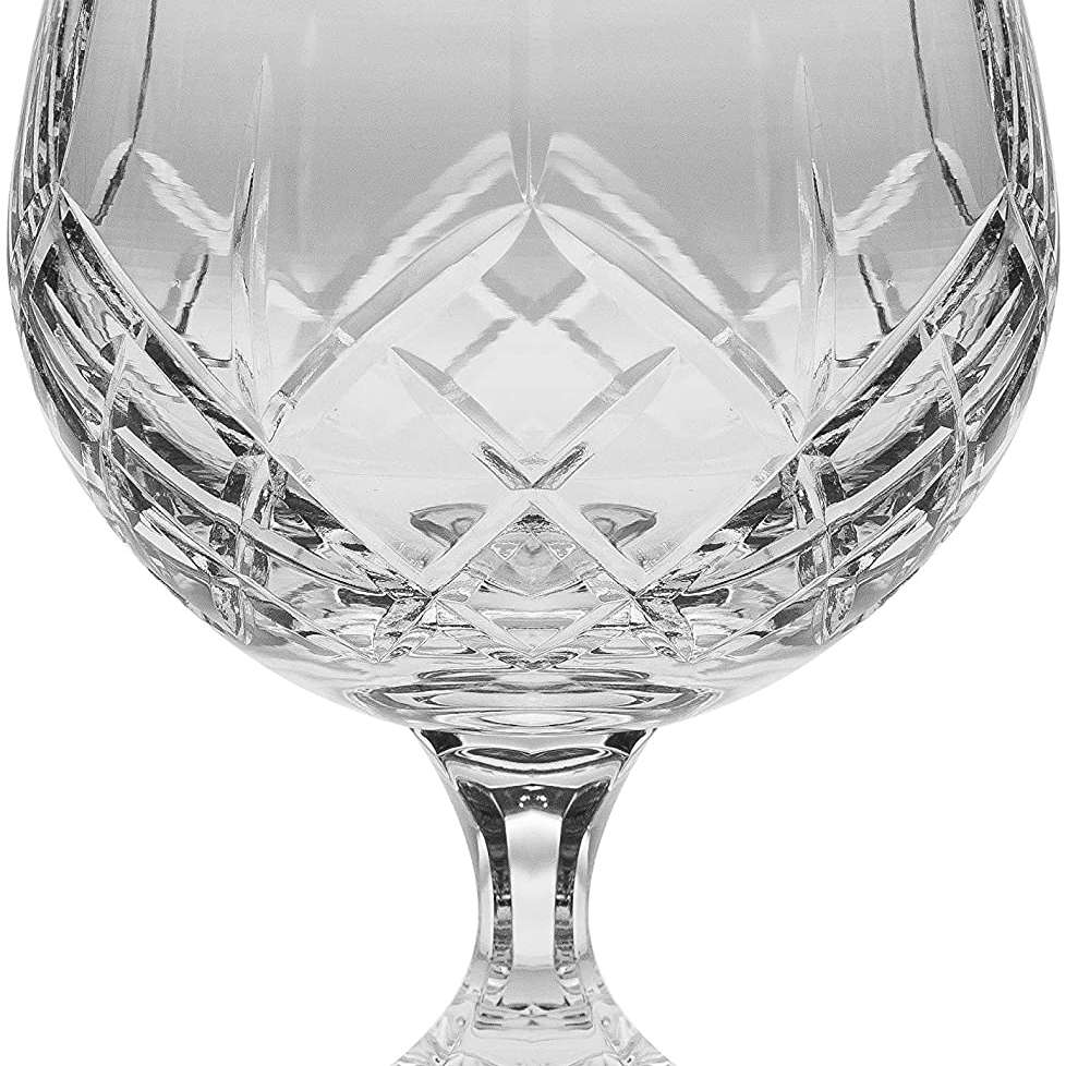 Barski 11 Ounce Handcrafted Crystal Snifters