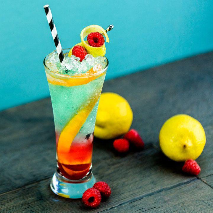 tealquila sunrise cocktail