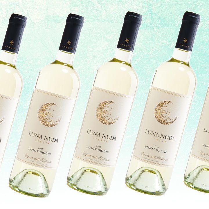 Luna Nuda Pinot Grigio bottles