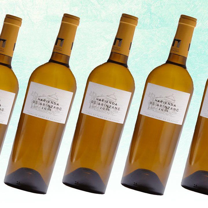 Hacienda de Arínzano Chardonnay bottles