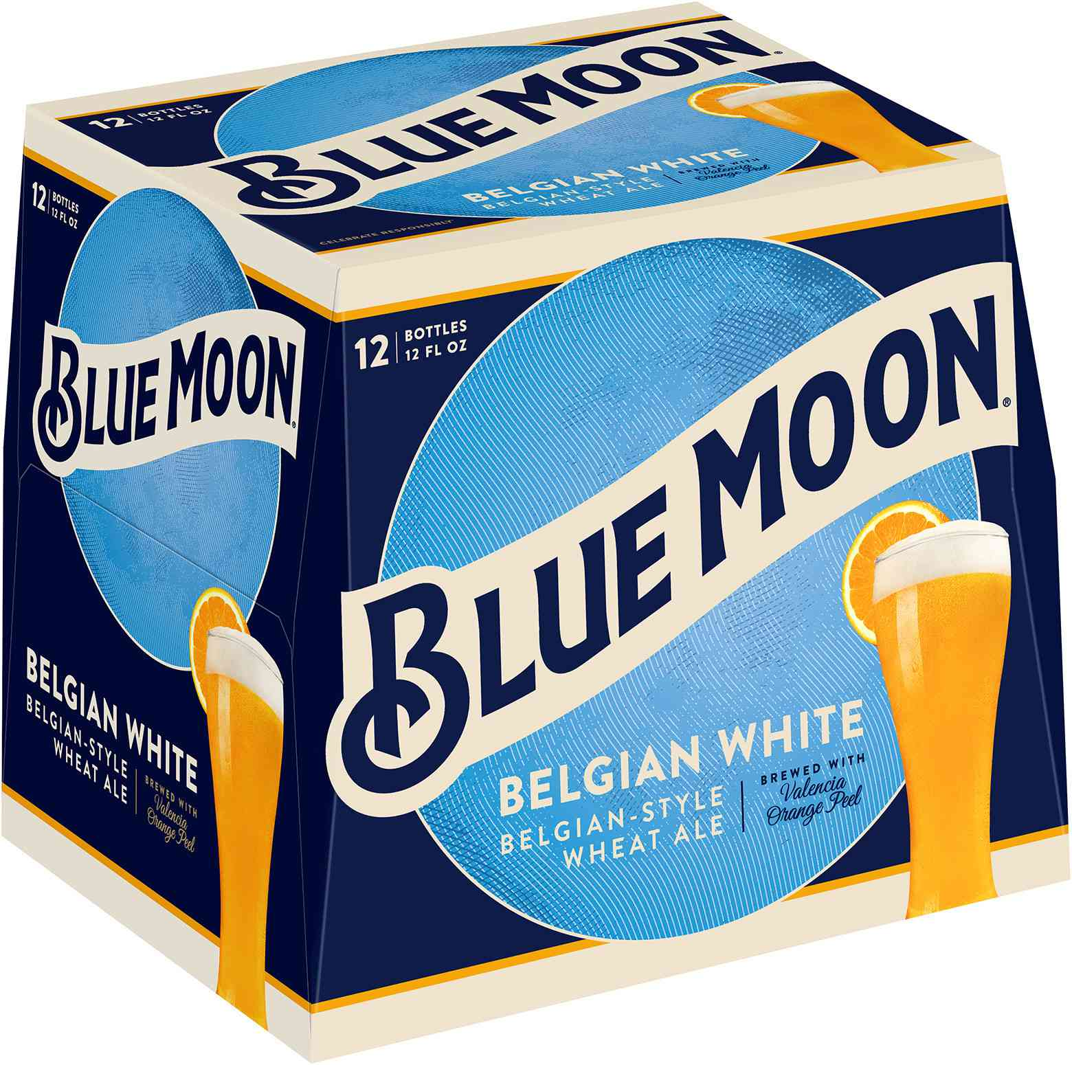 Blue Moon Belgian White Wheat Craft Beer