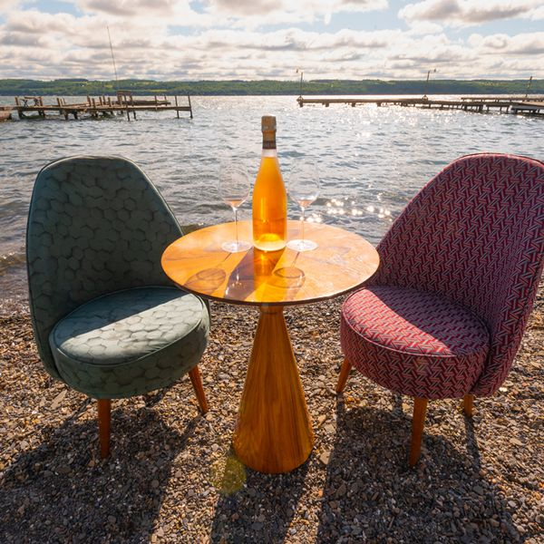 New York City's Compagnie des vins Surnaturels transformed an empty B&B in Cayuga, New York, into Supernatural Lake, a hotel complete with cottage rentals, a wine bar and a full restaurant on the shores of a lake.