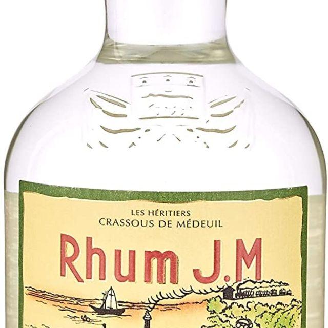 Rhum J.M. White Agricole Rum