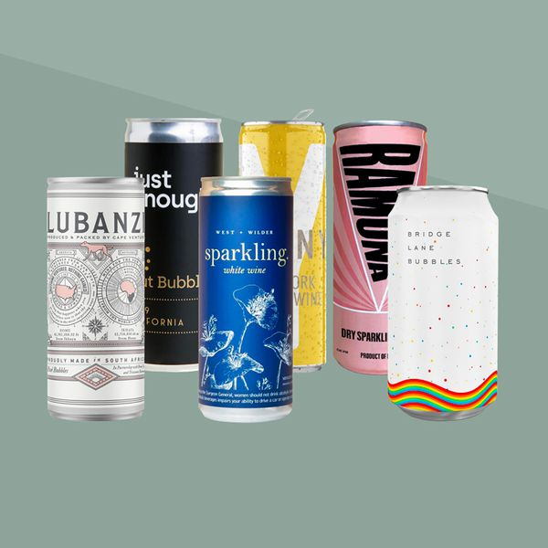 Canned sparkling wines