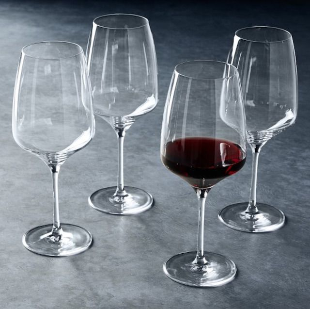 Open Kitchen by Williams Sonoma Angle Red Wine Glasses