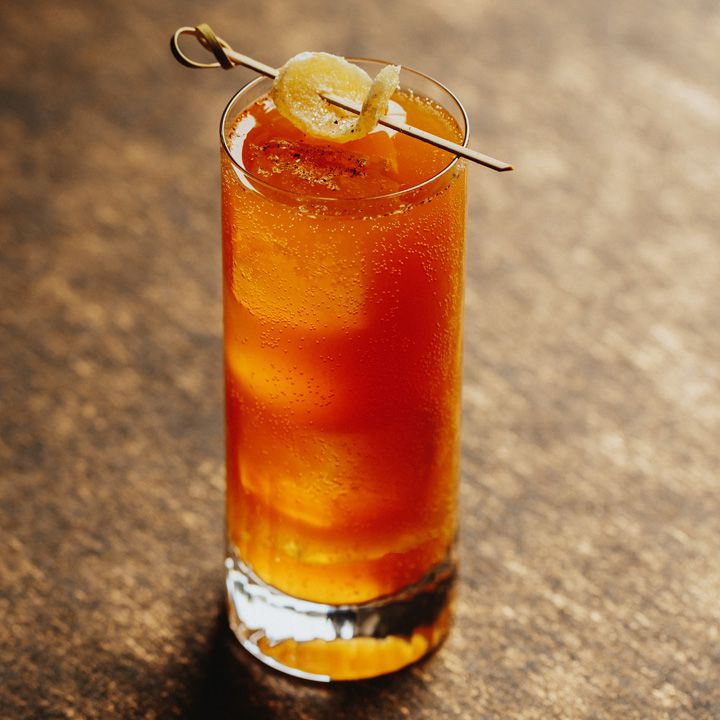 Pumpkin Buck cocktail