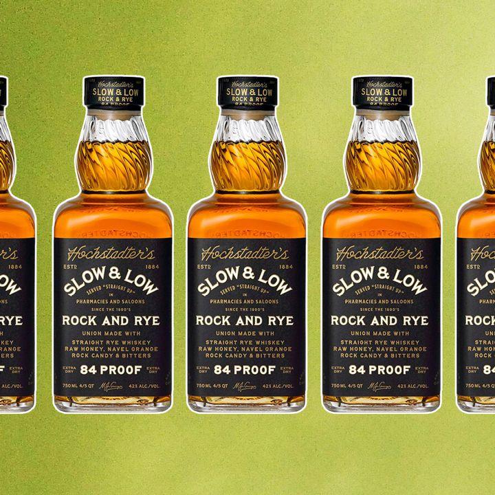 Bottled Rock & Rye cocktail