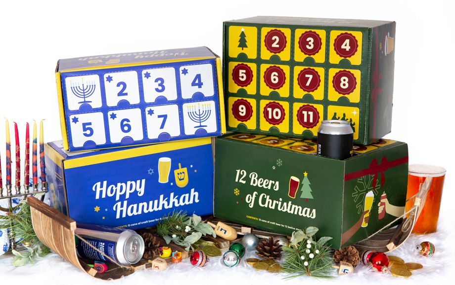 City Brew Tours Hanukkah and Christmas Boxes