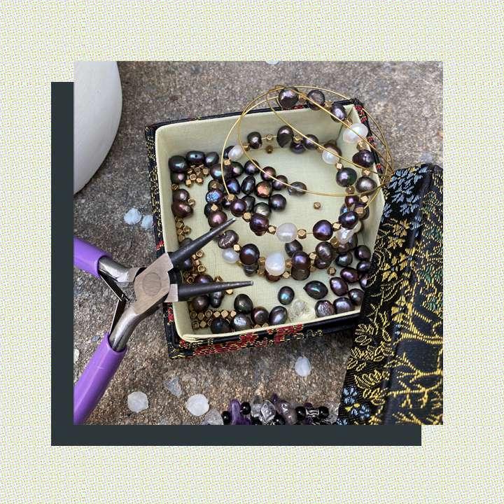 jewelry-making supplies