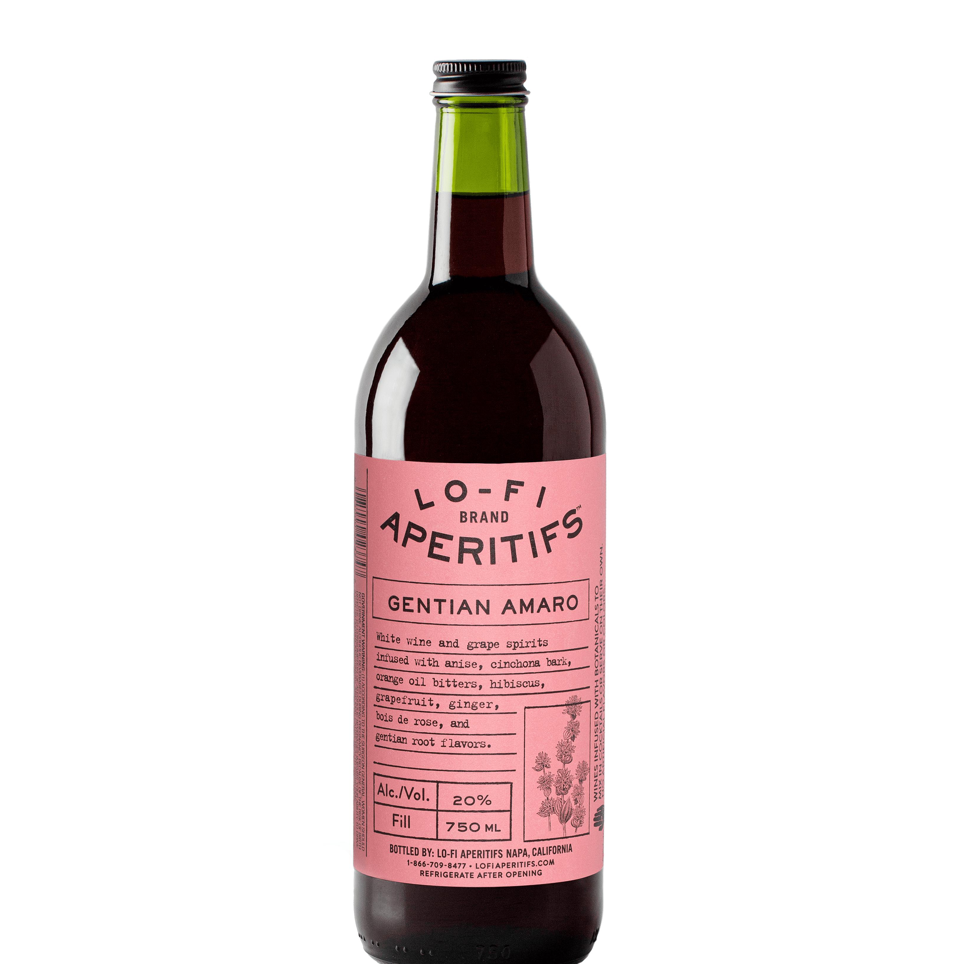 Lo-Fi Gentian Amaro - new bottle 6/2021