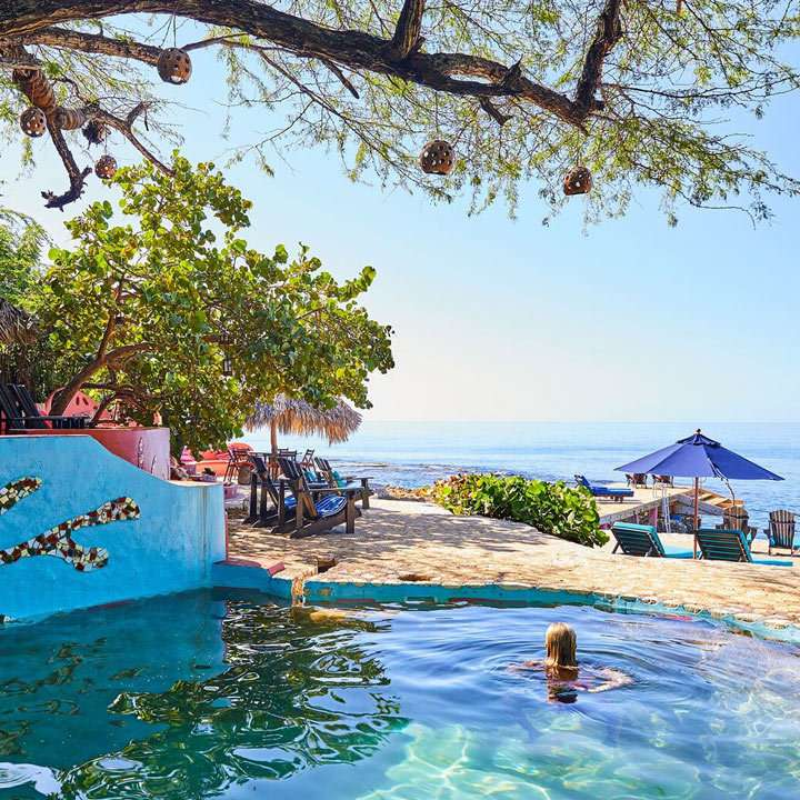 Jakes retreat in Treasure Beach, Jamaica