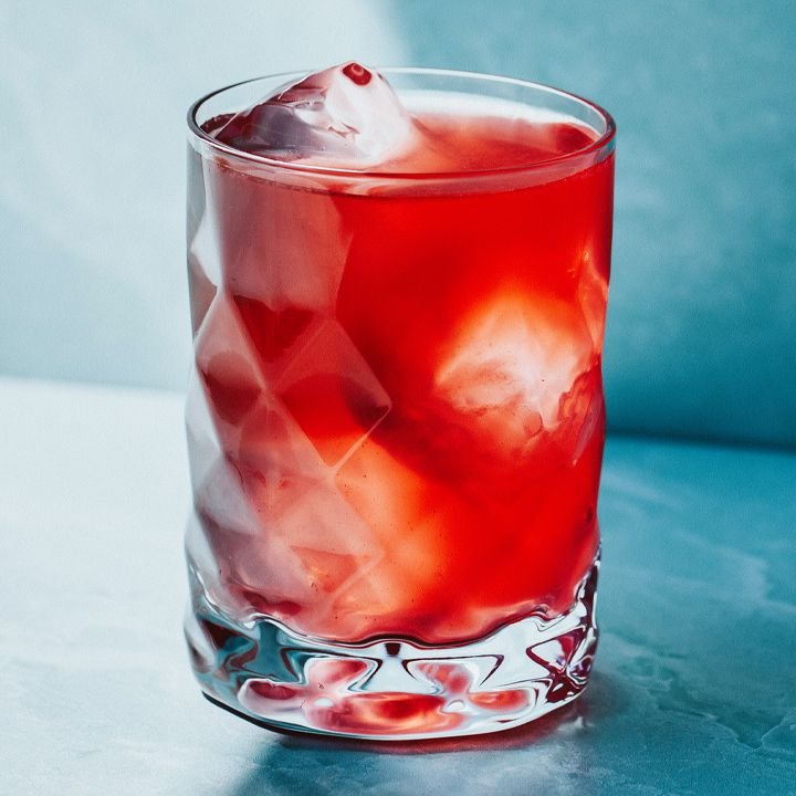 Scarlet Glow cocktail