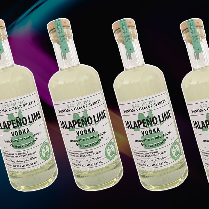 Sonoma Coast Jalapeño Lime vodka bottle