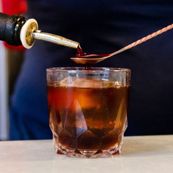 Bitter Temptation cocktail