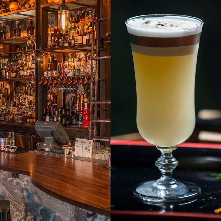 Sweet Liberty and its Collins Park Sour