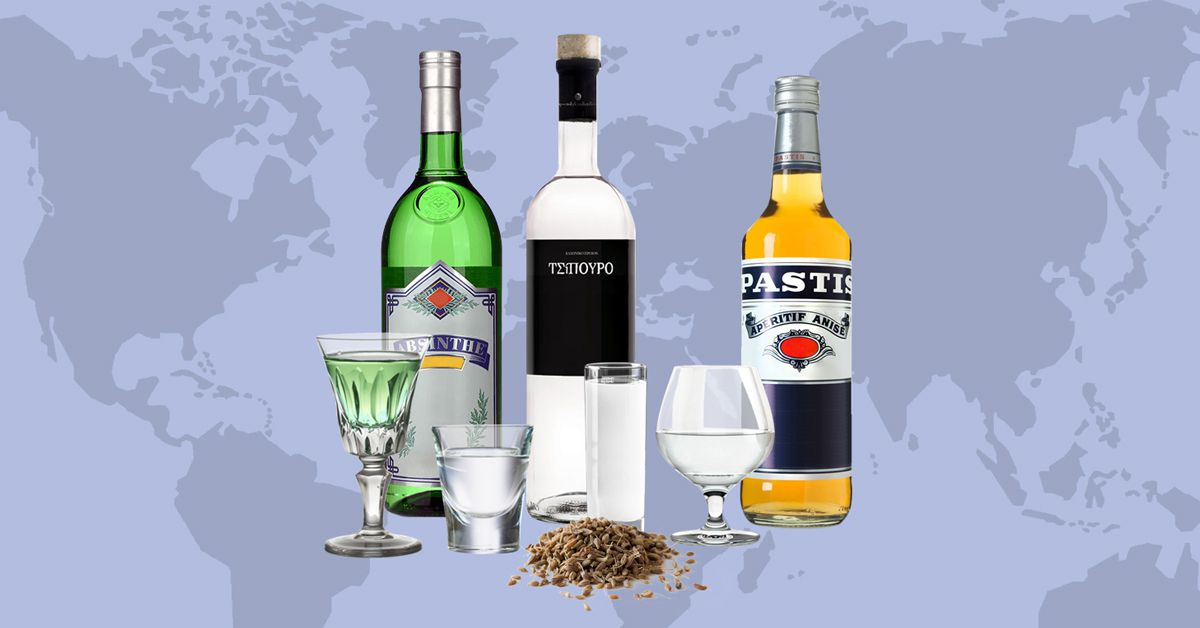 Anise Flavored Spirits Everything You Need To Know And How They Differ