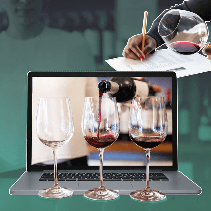 Wine photo composite