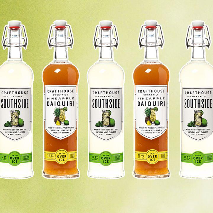 Crafthouse bottled cocktails