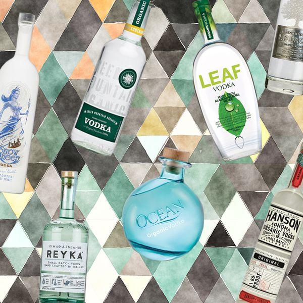 Green vodkas