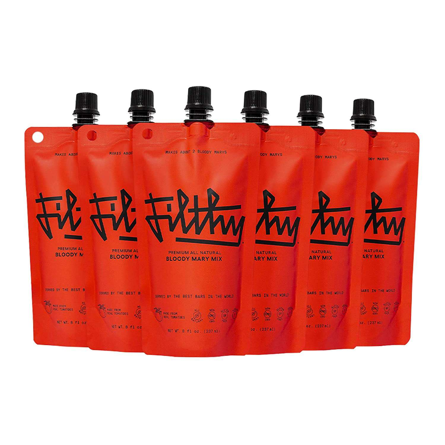 Filthy Bloody Mary Mix – All-Natural Premium Cocktail Mix