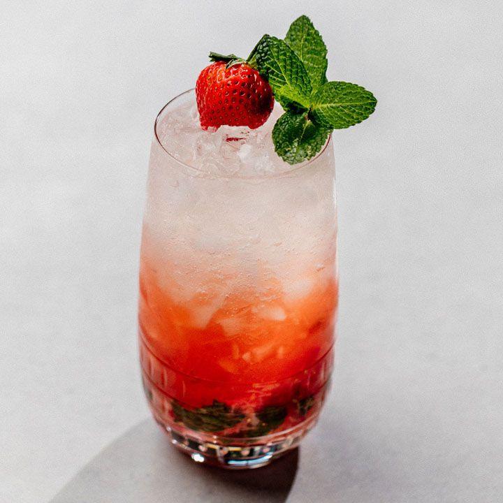 Strawberry Crush cocktail