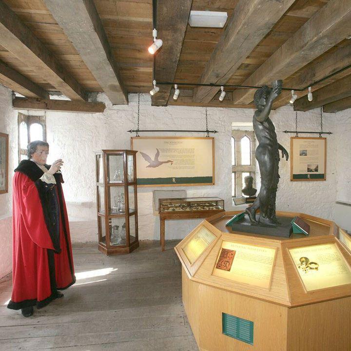 Desmond Castle & the International Museum of Wine interior