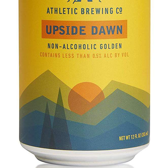 Athletic Brewing Company Upside Dawn Golden Ale