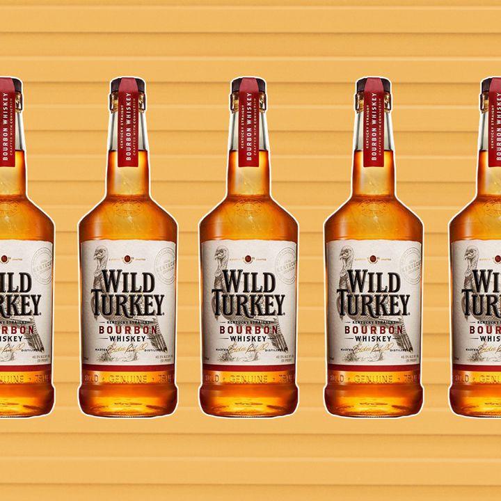 Wild Turkey bottles