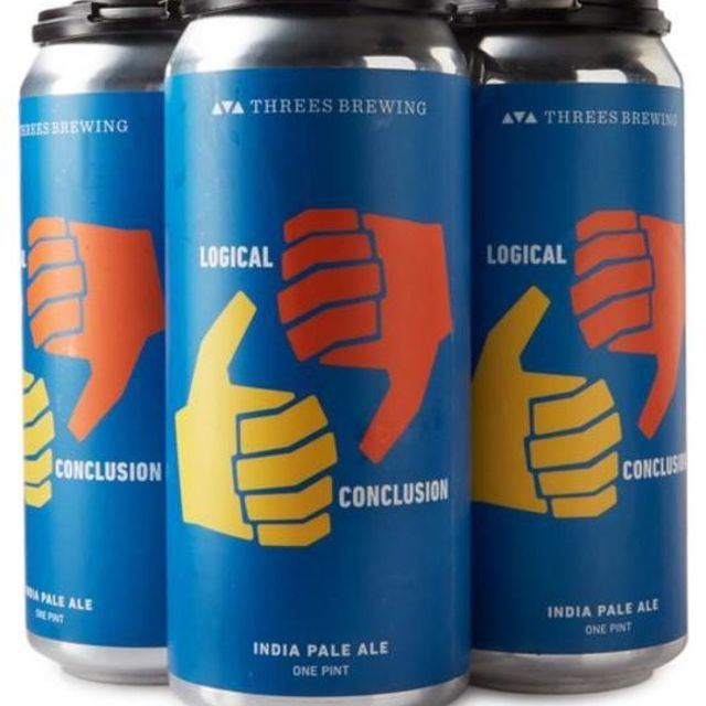 Threes Brewing Logical Conclusion IPA