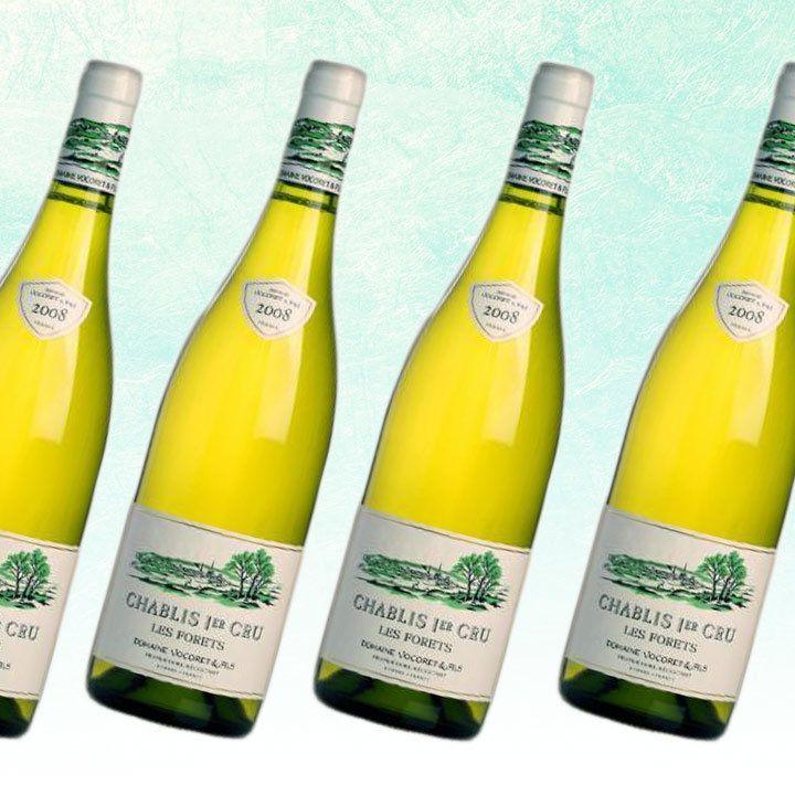 2017 Domaine Vocoret et Fils Les Forêts Chablis Premier Cru bottle