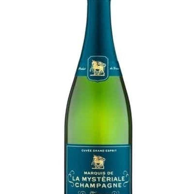 Cuvée Grand Esprit Marquis de la Mysteriale Champagne