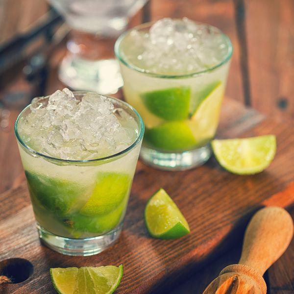 cocktail with cachaça