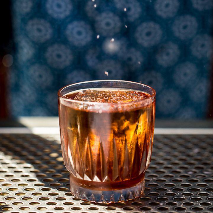 Loaded Pistol cocktail