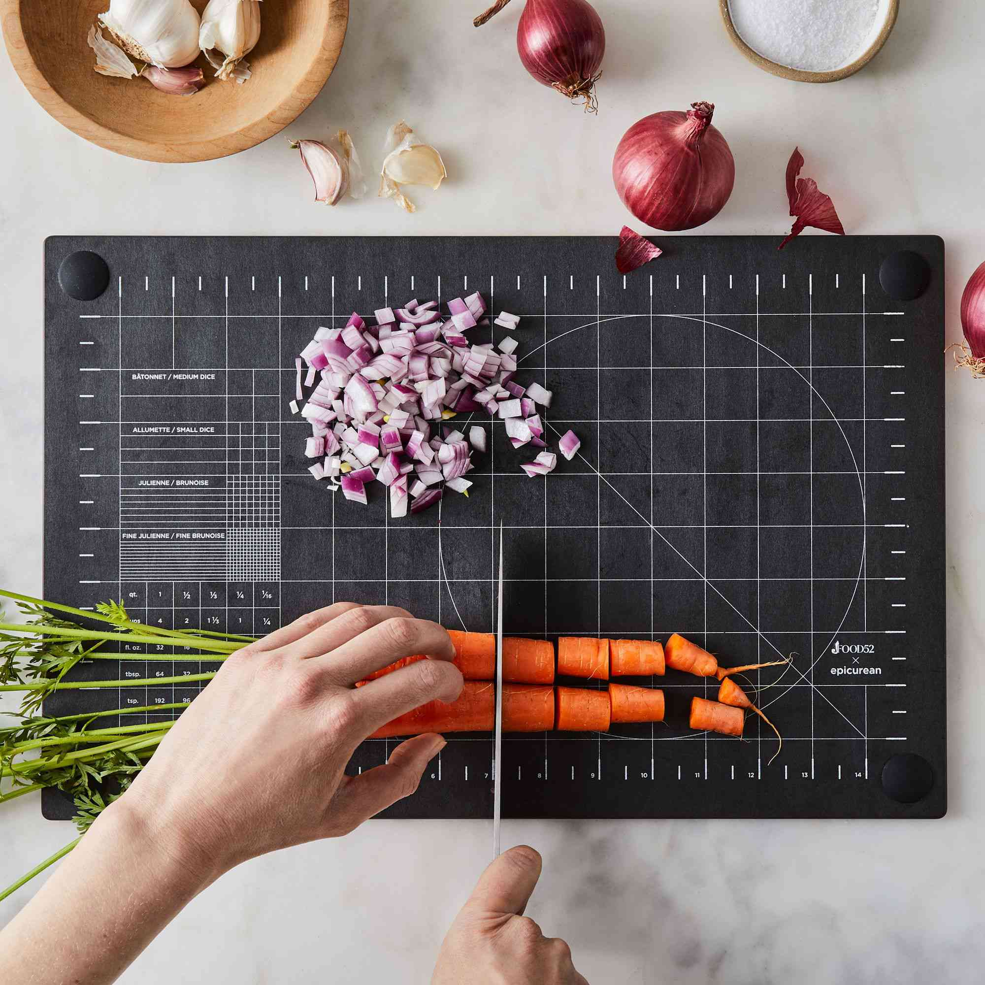 Food52 x Epicurean Precision Cutting Board