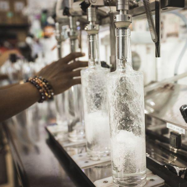 Vodka production at Ublendit