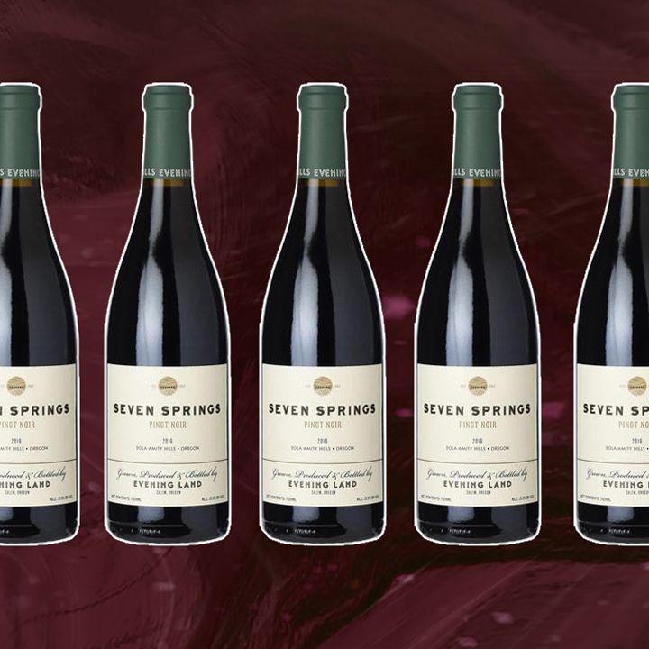 """Evening Land """"Seven Springs"""" Pinot Noir"""