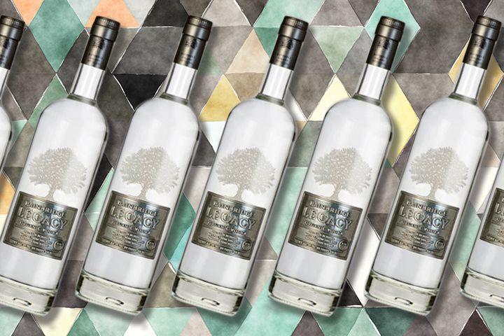 Bainbridge Legacy vodka bottles