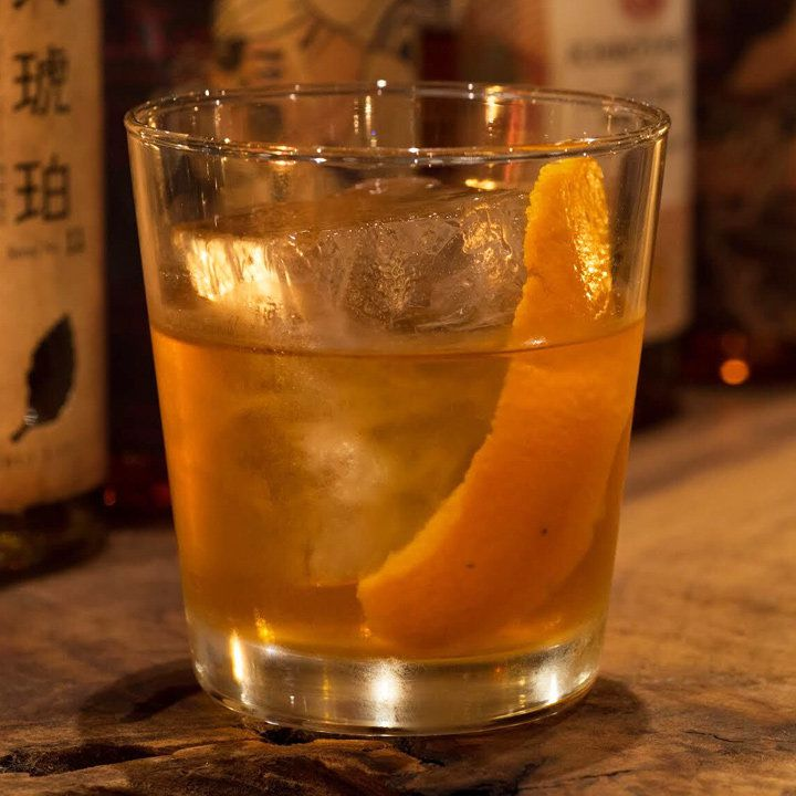 local old fashioned cocktail
