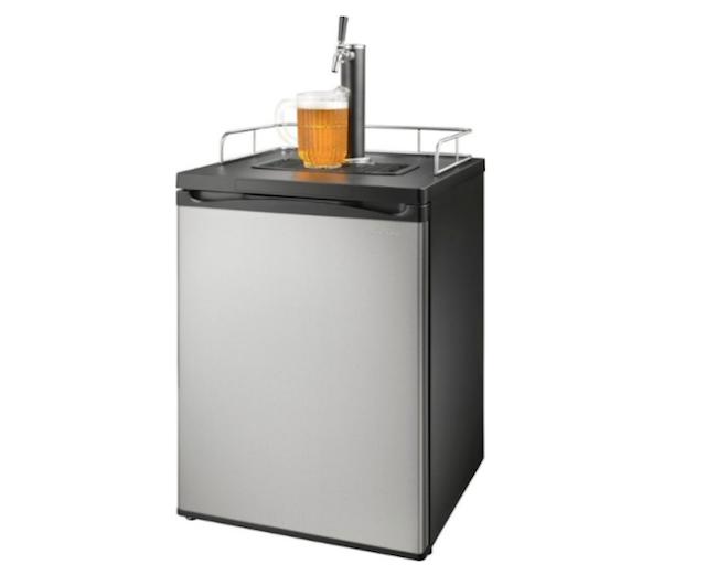Insignia 1-Tap Beverage Cooler Kegerator