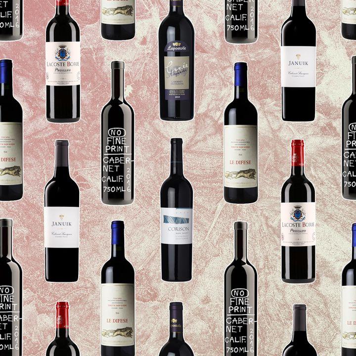 Cabernet Sauvignon bottles