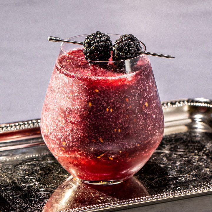Blackberry Wine Slushie