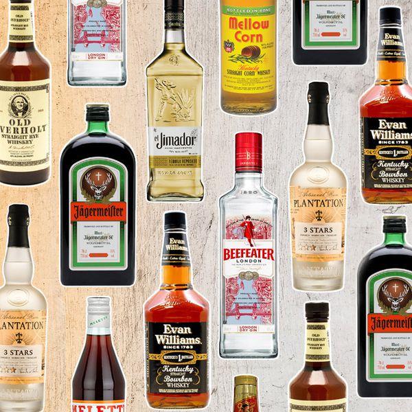 8 cheap bottles