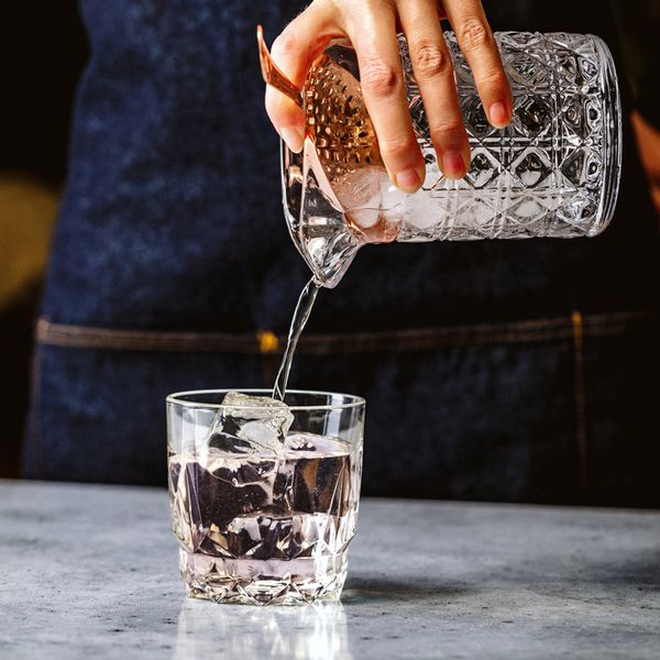 Bright Lights by Ivy Mix incorporates a syrup made with rosé cava.