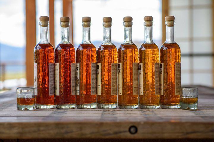 High West bottles